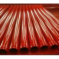 Wholesale High Performance Concrete Pump Pipe / Concrete Rubber Hose With Single / Double Layer from china suppliers