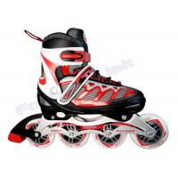 Wholesale Sticked Toe Cap Kids Inline Skating Shoes Outdoor Inline Speed Skating Equipment from china suppliers