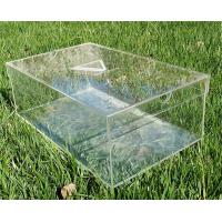 Wholesale China manufacturer clear Acrylic shoe box supplier from china suppliers