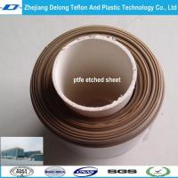 Wholesale 0.3mm, 0.5mm, 1mm Dark deep Brown color PTFE etched SHEET from china suppliers