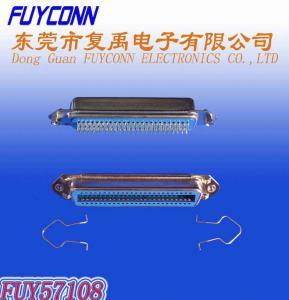 0.085in Centerline 50 Pin DDK Centronic Solder Female Connectors Certificated UL
