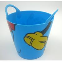 Quality 1500ml PP Bucket Large Disposable Salad Bowls Round FOR food packaging Pail for sale