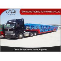 Wholesale Double Axles Vehicle Transport  Trailer  Wheelbase Dimensions 10 Cars Carry from china suppliers