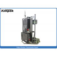 Wholesale 10KM NLOS Emergency COFDM Transmitter with Encryption Mobile Video Transmission System from china suppliers