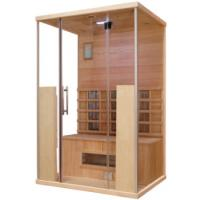 Wholesale Red Cedar Dry Heat Sauna With Transom Windows For 1 - 8 Person , ROHS CE Certification from china suppliers