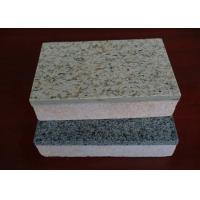 Wholesale Heat Insulation Cement Board Partition Exterior Wall Cladding / Flooring Waterproof and Fireproof from china suppliers