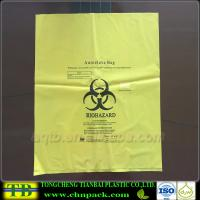 Custom Yellow Autoclave Medical Garbage Bag