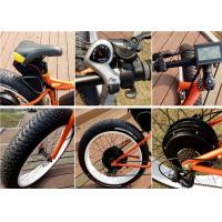 Wholesale KMC Chain / CHAOYANG Tire 60kph Defiant Electric Fat Bike With LCD Display from china suppliers