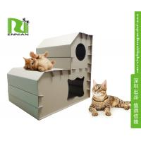 Wholesale Customized corrugated cat scratcher Cardboard Home Furniture Pet House from china suppliers