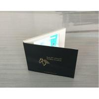 Wholesale CMYK Printing Digital Lcd Video Brochure With Magnetic Switch / Light Sensor from china suppliers