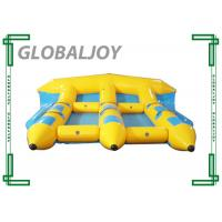 Wholesale Tarpaulin Inflatable Water Games , Inflatable Flying Fish Banana Boat from china suppliers
