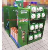 Wholesale Walmart Cardboard Pallet Display stand with shelves and hooks from china suppliers