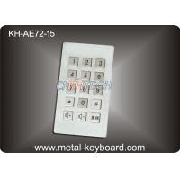 Wholesale Industrial Input Stainless Steel keyboard metal  , dustproof keyboard long life from china suppliers
