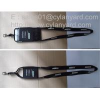 Wholesale Spandex mobile phone pouch lanyard, spandex phone pocket strap ribbon, from china suppliers