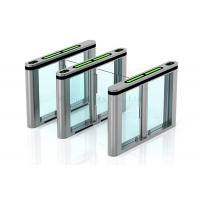 Wholesale RIFD IR Sensor Supermarket Swing Gate Station Luggage Turnstile Barrier from china suppliers