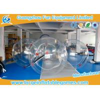 Wholesale 1.8m Dia Inflatable Walk On Water Ball / Inflatable Human Hamster Ball from china suppliers