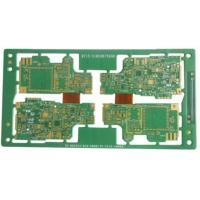 Wholesale 10 Layers Rigid Flex PCB For Car Audio Immersion Gold 1.32mm Thickness from china suppliers