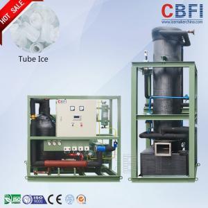 Wholesale Bitzer Semi-Hermetic Piston Type Ice Tube Machine Tube Ice Making Machine from china suppliers
