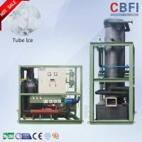 Buy cheap CBFI 24 Hours Running Tube Ice Machine Designed for Hot Summar 1 Ton to 30 Ton Daily Capacity from wholesalers