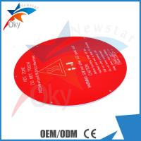 Wholesale PCB Aluminum Plate 3D Printer Models Rostock Circular Hot Bed MK3 Reprap from china suppliers