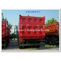 Quality Sinotruk howo new dump truck 25tons tipper truck Euro II 371hp red color for sale