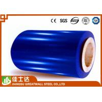 Wholesale Blue Hot Dipped Colour Coated Coils / Ppgl Coil 600-1250mm Width from china suppliers