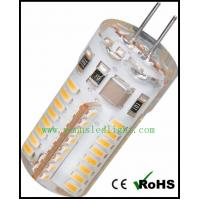 Wholesale LED bulb spot lights G4 64 3014 SMD 360° lamp warm white 3-3.5W 240-280LM 220V from china suppliers