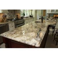 Wholesale Yellow River / Golden River Granite Vanity Countertops For Traditional Bathroom from china suppliers