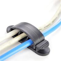 Wholesale Home And Office Using Cable Drop Clip Portable Wire Organizer Computer Cord Divider from china suppliers