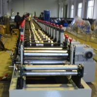 Quality 1.2 - 2.0mm Galvanized Steel Racking Beam Cold Roll Forming Machine 20 Roller Stations for sale
