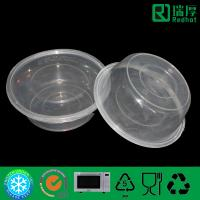 Quality Wholesale polypropylene plastic round food storage container with lid 300ml for sale