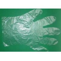Wholesale Transparent Disposable Polyethylene Gloves , PE Gloves Embossed / Smooth Surface from china suppliers