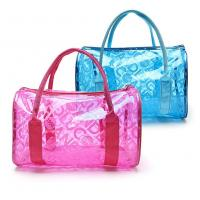Fashion Design PVC Cosmetic Bag 0.3mm Thickness For Waterproof Storaging for sale