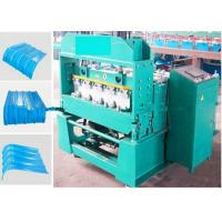 Wholesale Curving Roof Sheet Cold Roll Forming Machine / Bending Machine By PLC from china suppliers