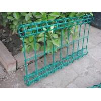 Wholesale PVC coated circles fence with metal fence post from china suppliers