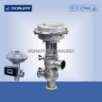 Wholesale SS304 316 DN25-DN100 sanitary regulating pneumatic diaphragm reversing valve with double seat from china suppliers
