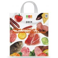 Wholesale Soft loop handle 100% biodegradable plastic bags plastic bag biodegradable, COMPOSTABLE from china suppliers