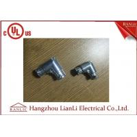 Wholesale Zinc Zamak EMT Conduit Fittings 1/2 4 EMT 90 Degree Elbow Set Screw Type from china suppliers