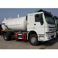 Wholesale Sanitation Enterprise Sewage Suction Truck 8-12CBM RHD 4X2 , Liquid Waste Trucks from china suppliers
