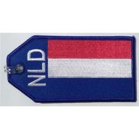 Wholesale The Netherlands Flag Travel Name Tag For Luggage Crew Gadgets from china suppliers