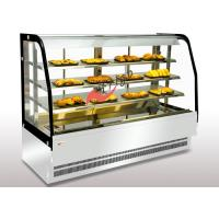 Quality Bakery Food Display Showcase Curved Warming Showcase Closed Type 3 Shelves Different Size Available for sale