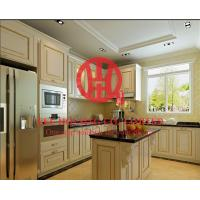 Wholesale Modern Elegant Solid Wood Kitchen Cabinet with Excellent Design and Quality from china suppliers