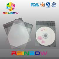 Wholesale OPP cellophane bags for CD card / gift packaging , self adhesive seal from china suppliers