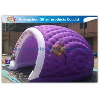 Wholesale Purple 5.5 X 4.5 X 3m Inflatable Air Tent Large Dome Tent for Business Event from china suppliers