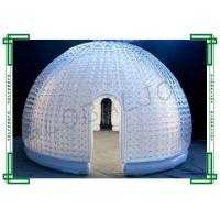 Wholesale Dome Inflatable Bubble Tent , Transparent Igloo Tent for Exhibition from china suppliers