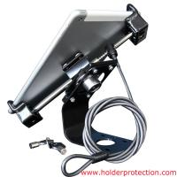 Wholesale COMER 90 degree rotating tablet desktop holder anti-theft locking devices for tablet computer from china suppliers