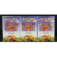 Buy cheap Comfortable Sound Isolating Earphones L Type With Angry Birds Design from wholesalers