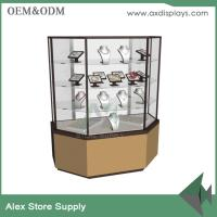 Wholesale Customized wood and metal jewelry display counter jewelry equipment used for shop from china suppliers