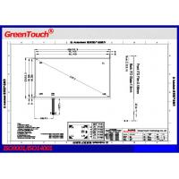 Wholesale Widescreen 19 inch 5 wire resistive touch panel 4096x4096 resolution from china suppliers