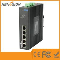 Wholesale Din Rail Unmanaged Ethernet Gigabit 5 Port Network Switch  1Gbps 0.9Mpps from china suppliers